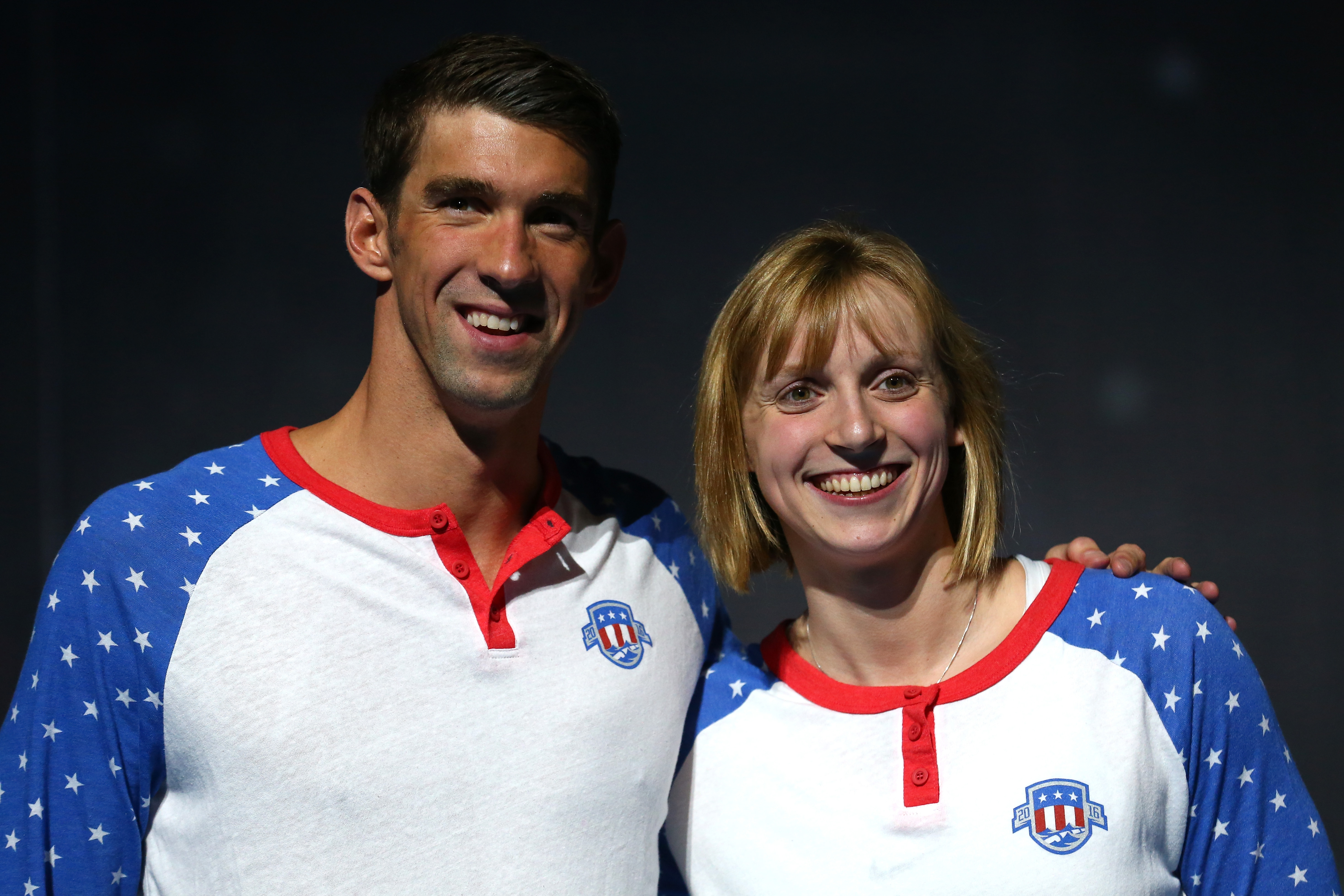 Michael Phelps and Katie Ledecky recreate famous pic and it's THE BEST