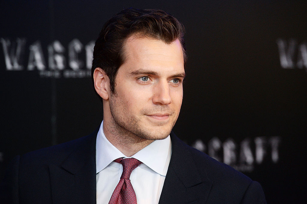Henry Cavill teasing his new Superman costume is exactly what we needed today