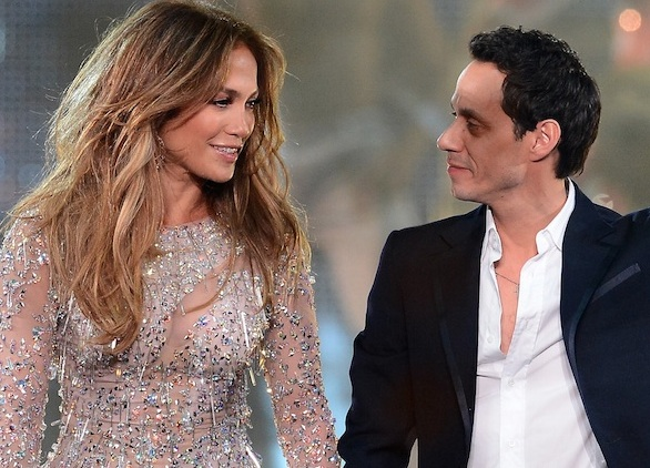 It looks like Jennifer Lopez and Marc Anthony are still friends, so we can all rest easy!