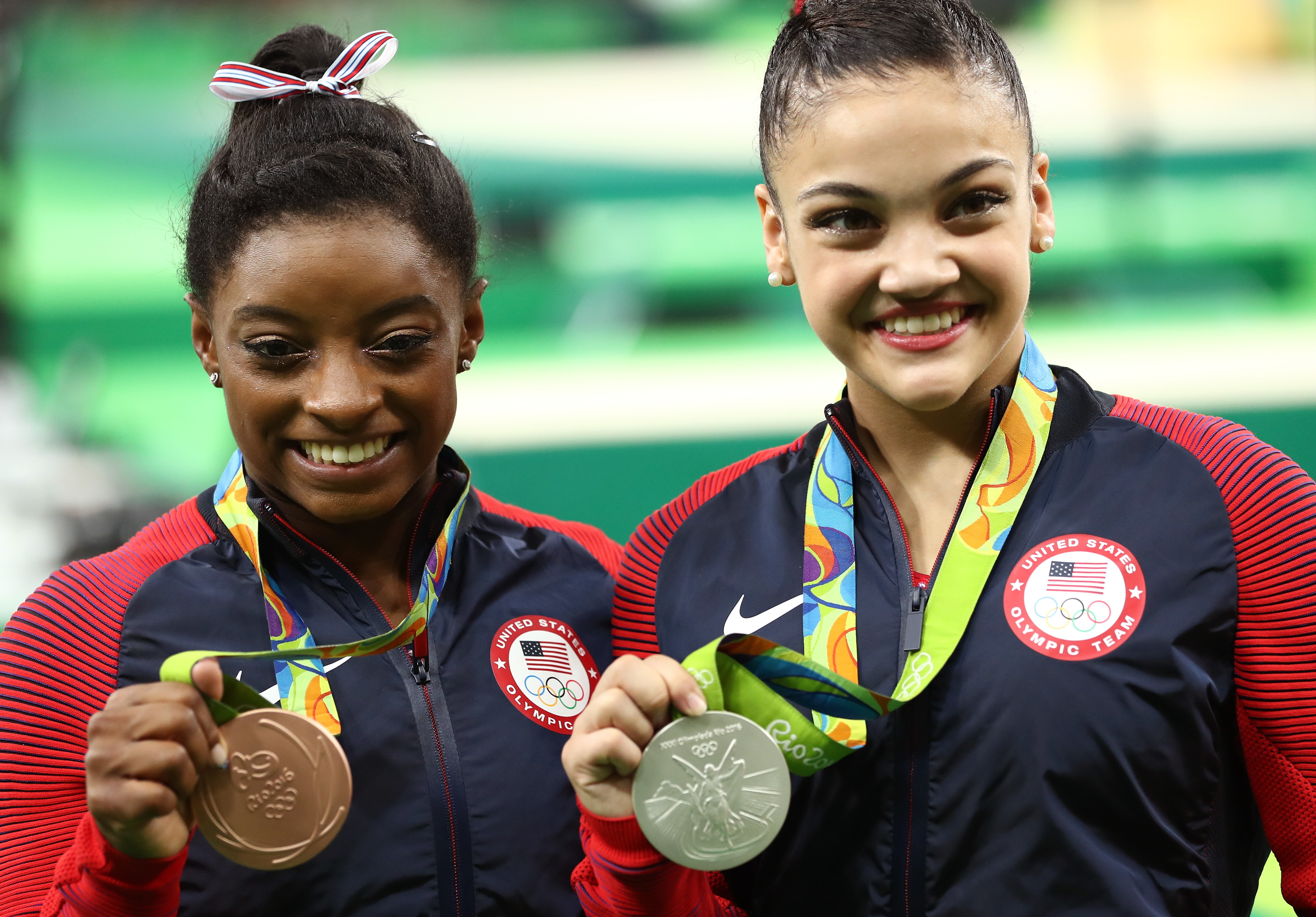 Simone Biles posted the cutest throwback pic with Laurie Hernandez, and we're on happy overload