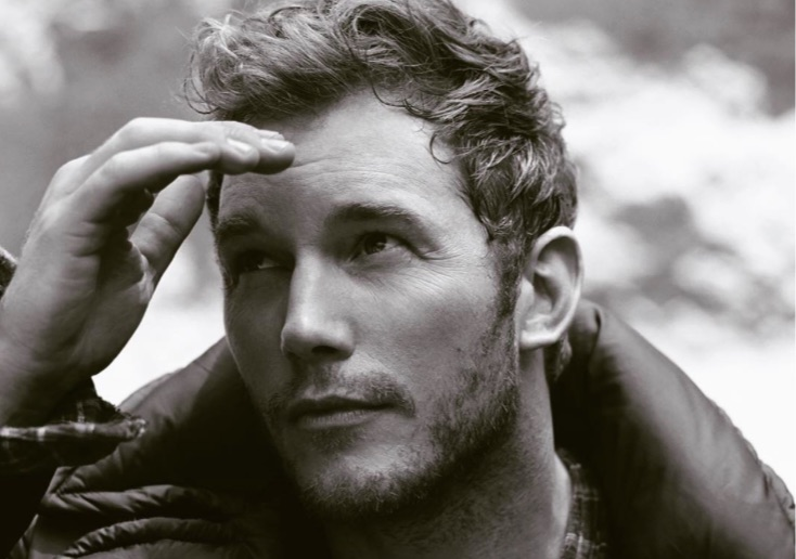 You must witness Chris Pratt's adorable commentary on his ultra-handsome photoshoot