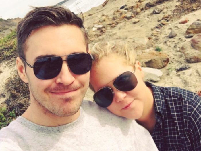 Amy Schumer describes meeting her boyfriend on a dating app and     HelloGiggles Instagram