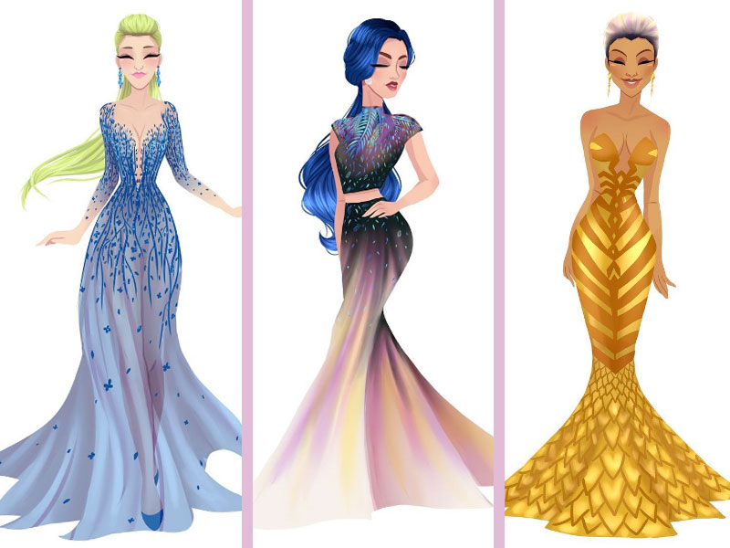 This artist created princesses modeled after the zodiac and the results are gorgeous