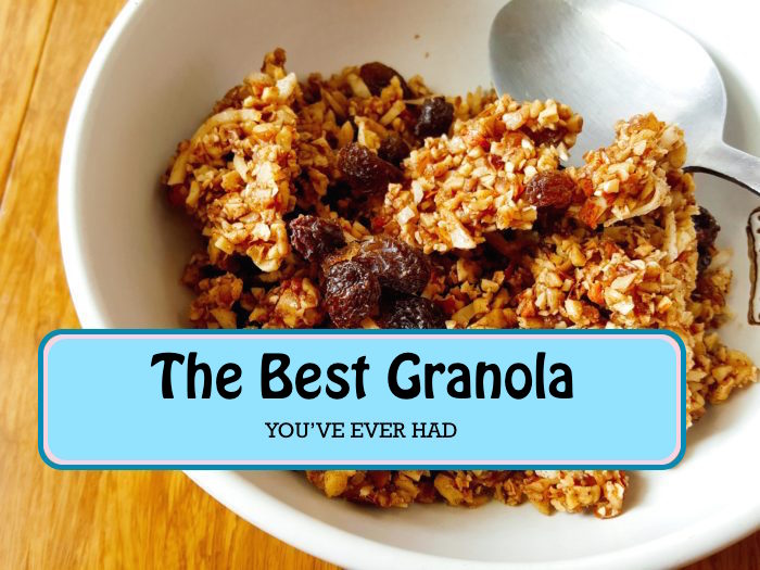 Here's how to make smokey, sweet granola at home —in 5 easy steps