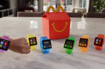 McDonald's is releasing fitness trackers with Happy Meals now, which is kinda awesome