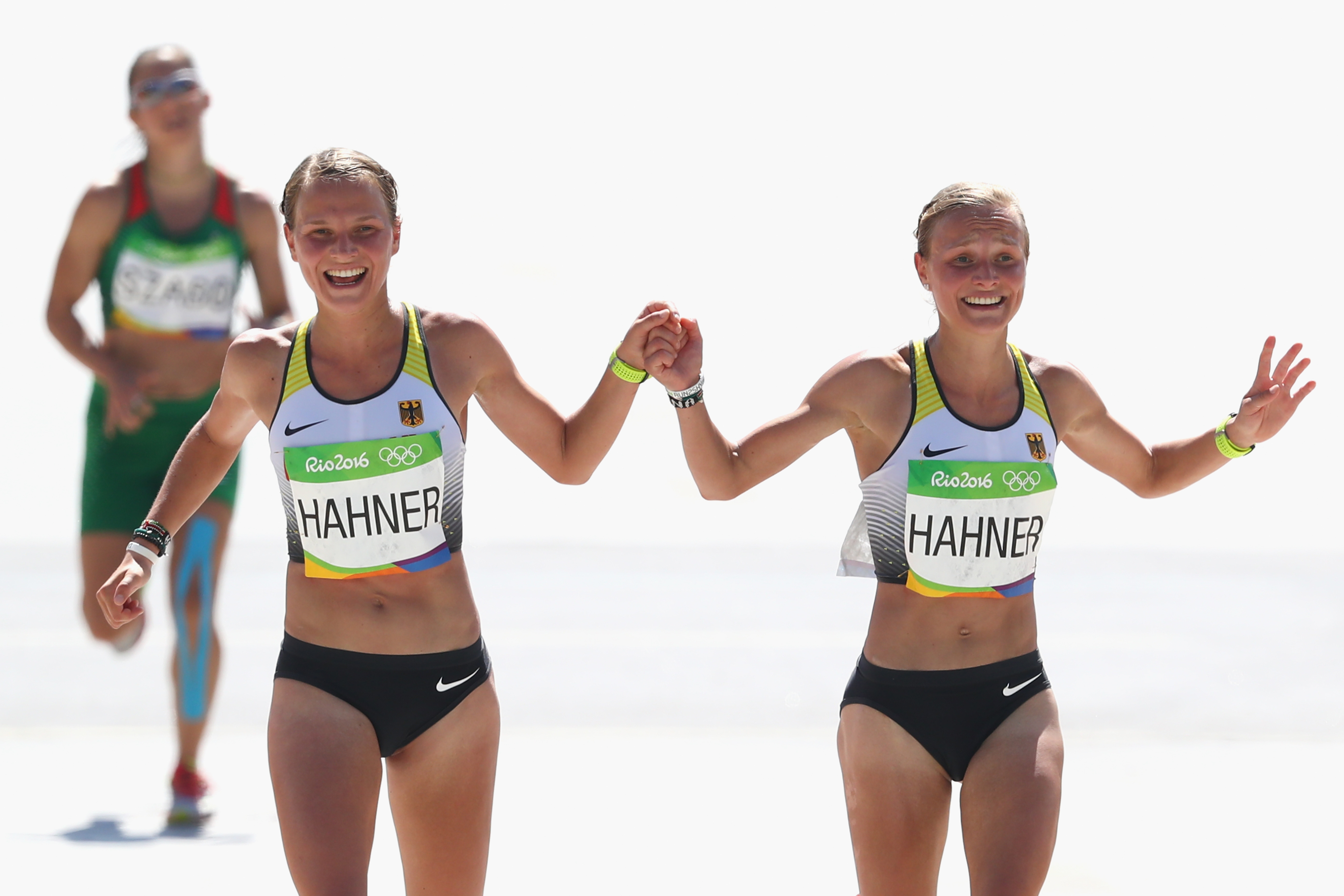 Why so many people are really upset about these Olympian twins holding hands