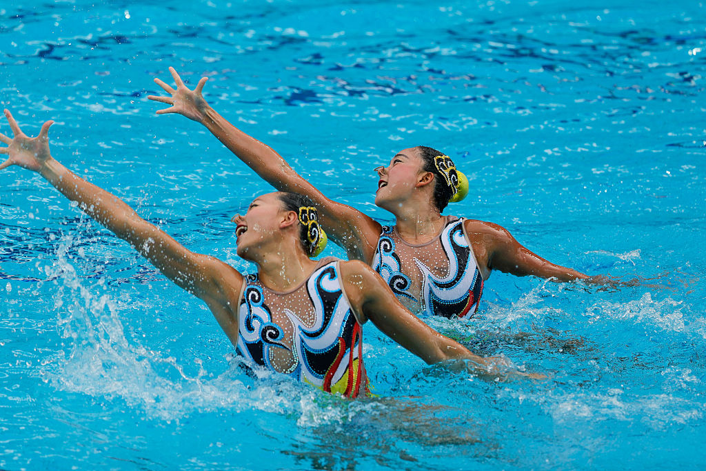 These synchronized swimming suits will have you dancing under the sea