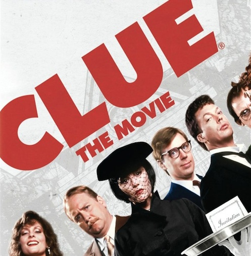 "They're making a ""Clue"" movie, which we didn't even know we desperately wanted until just now!"