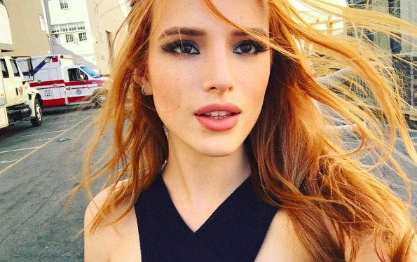 Looks like Bella Thorne brings the party to the gym in her latest Instagram pic!