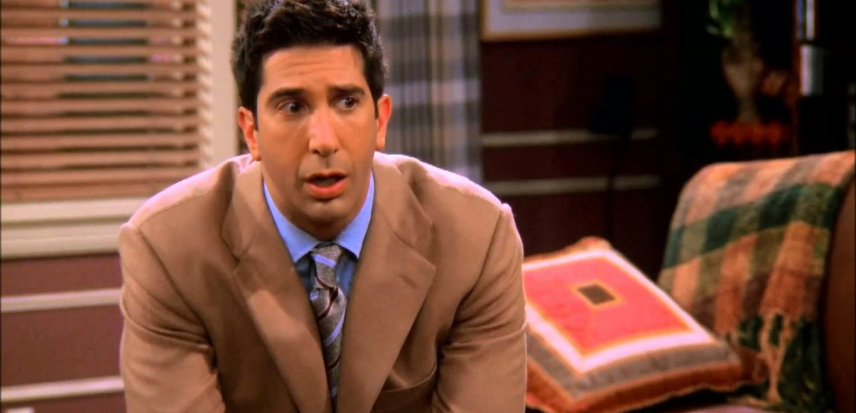 "David Schwimmer reveals how overwhelming it was to be Ross Geller on ""Friends"""