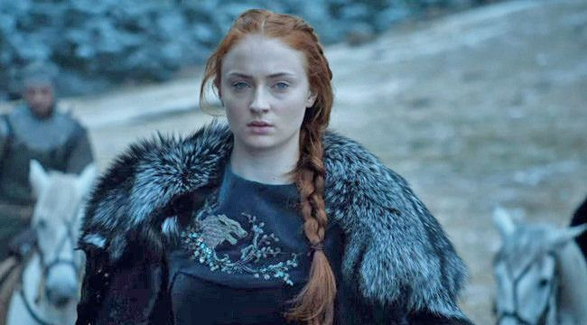 "Sophie Turner just gave us a concerning hint as to what might happen to Sansa Stark in next season's ""Game of Thrones"""