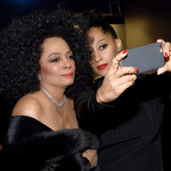 Tracee Ellis Ross just posted the CUTEST throwback pic with mom Diana