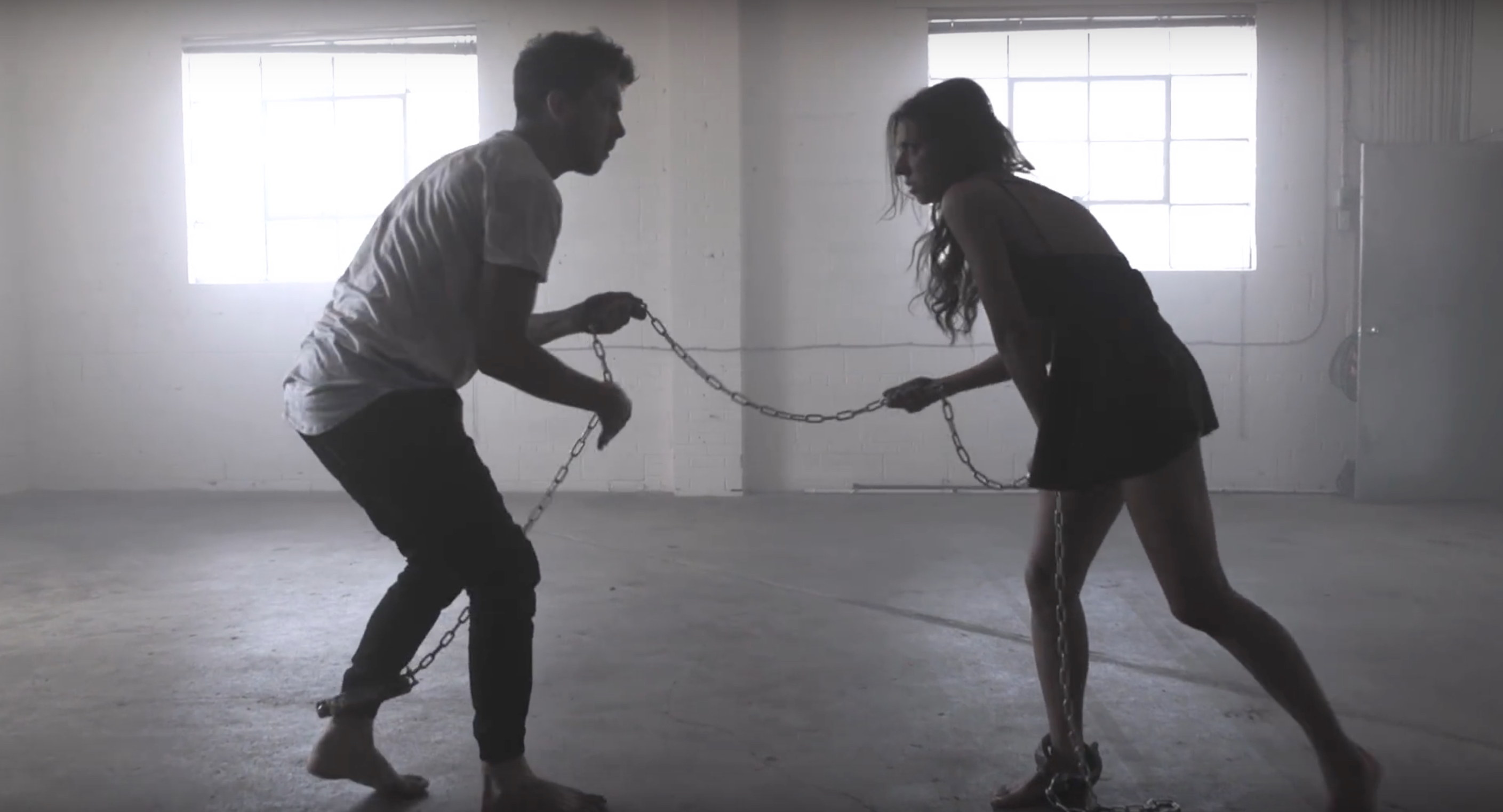 Former lovers end their toxic relationship in this emotional dance video