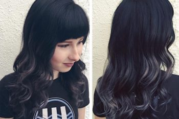 Call your hairstylist ASAP — gray ombré hair is here and it is stunning