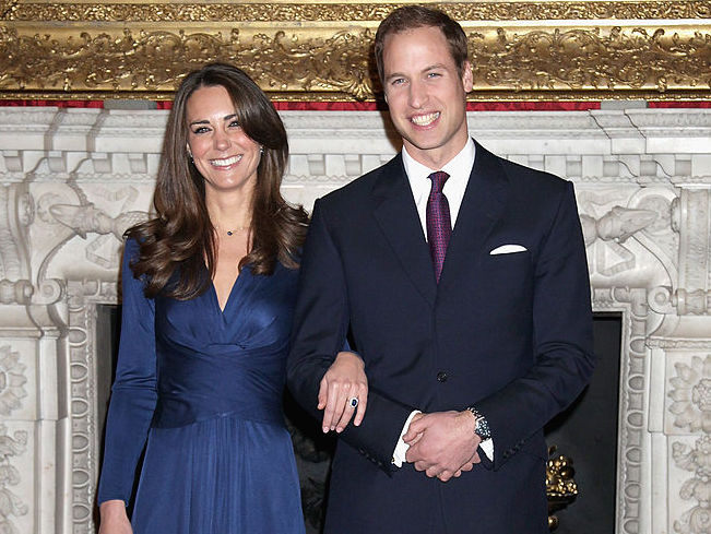 You can now buy Kate Middleton's iconic blue engagement dress for $175
