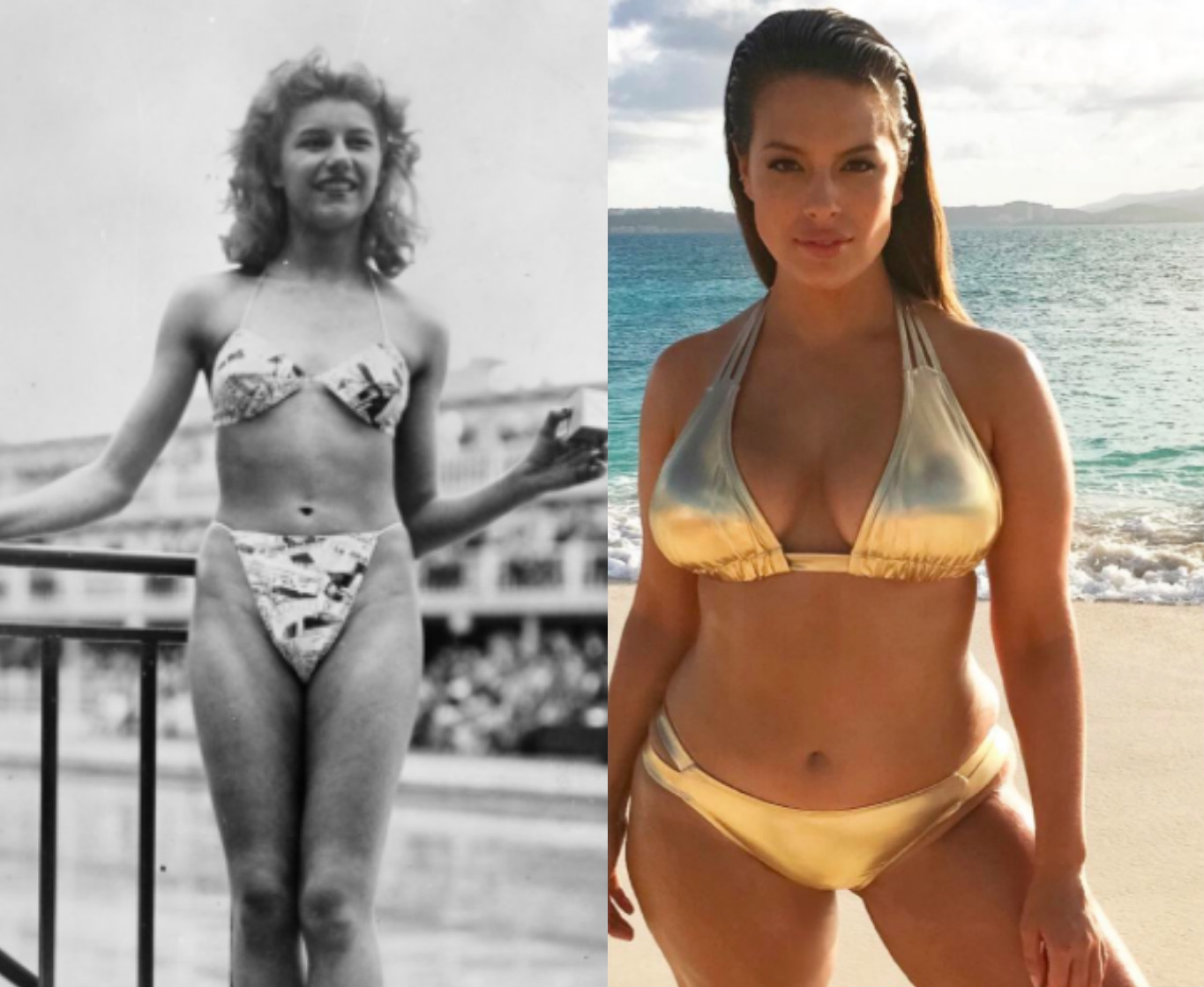 01659b15522 How the bikini has changed over the last 70 years | HelloGiggles ...