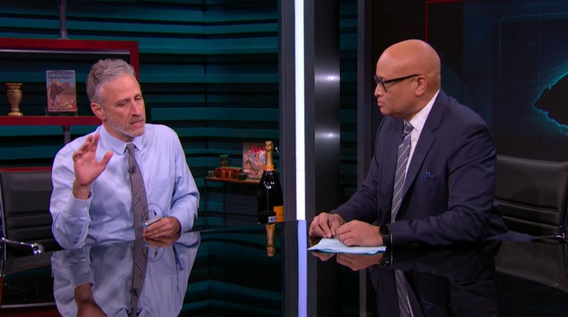 Jon Stewart joined Larry Wilmore on 'The Nightly Show' and it was so, so good