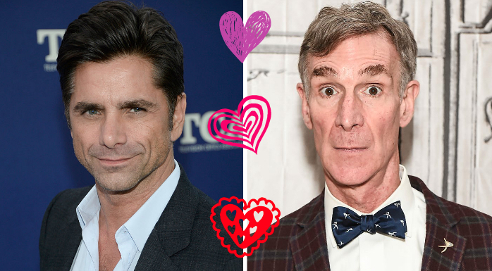 John Stamos is an even bigger Bill Nye fangirl than all of us