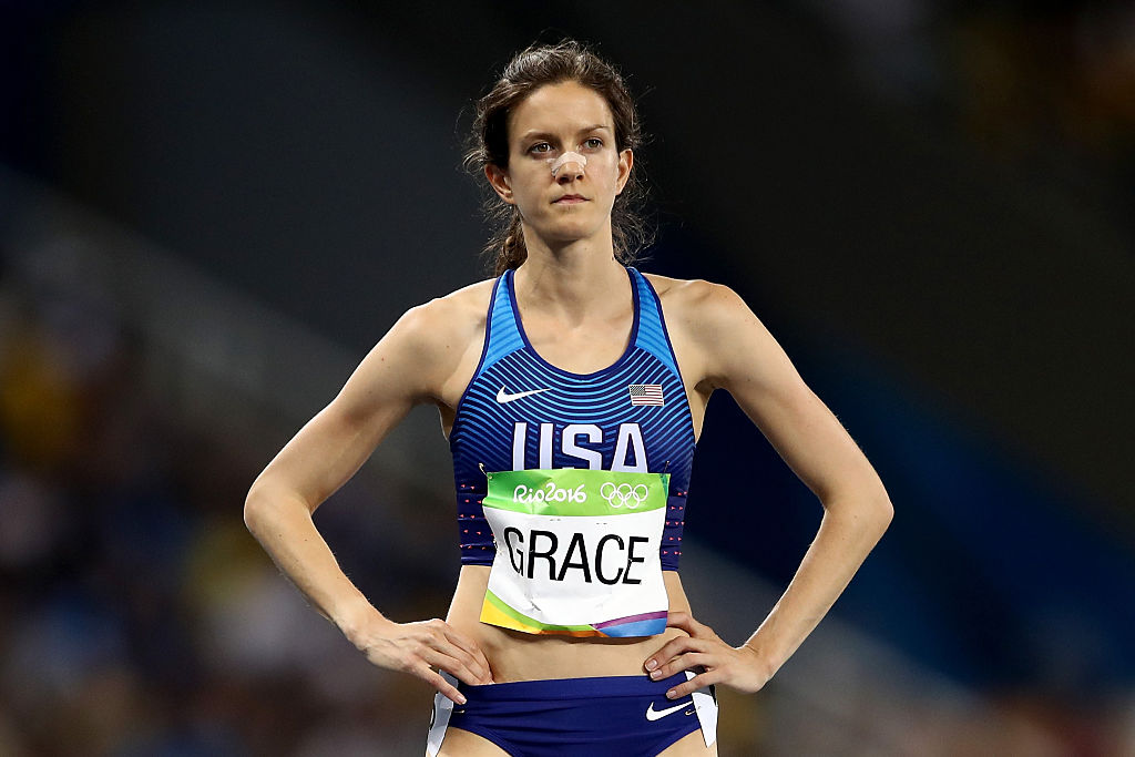 This Olympic runner has a famous mom, and you won't believe who it is
