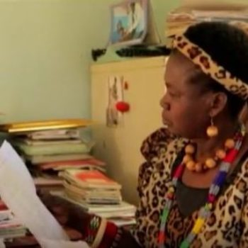 This is the amazing story of how an African female chief saved 850 girls from child marriages