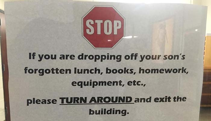 Why this school's note to parents has taken over the internet