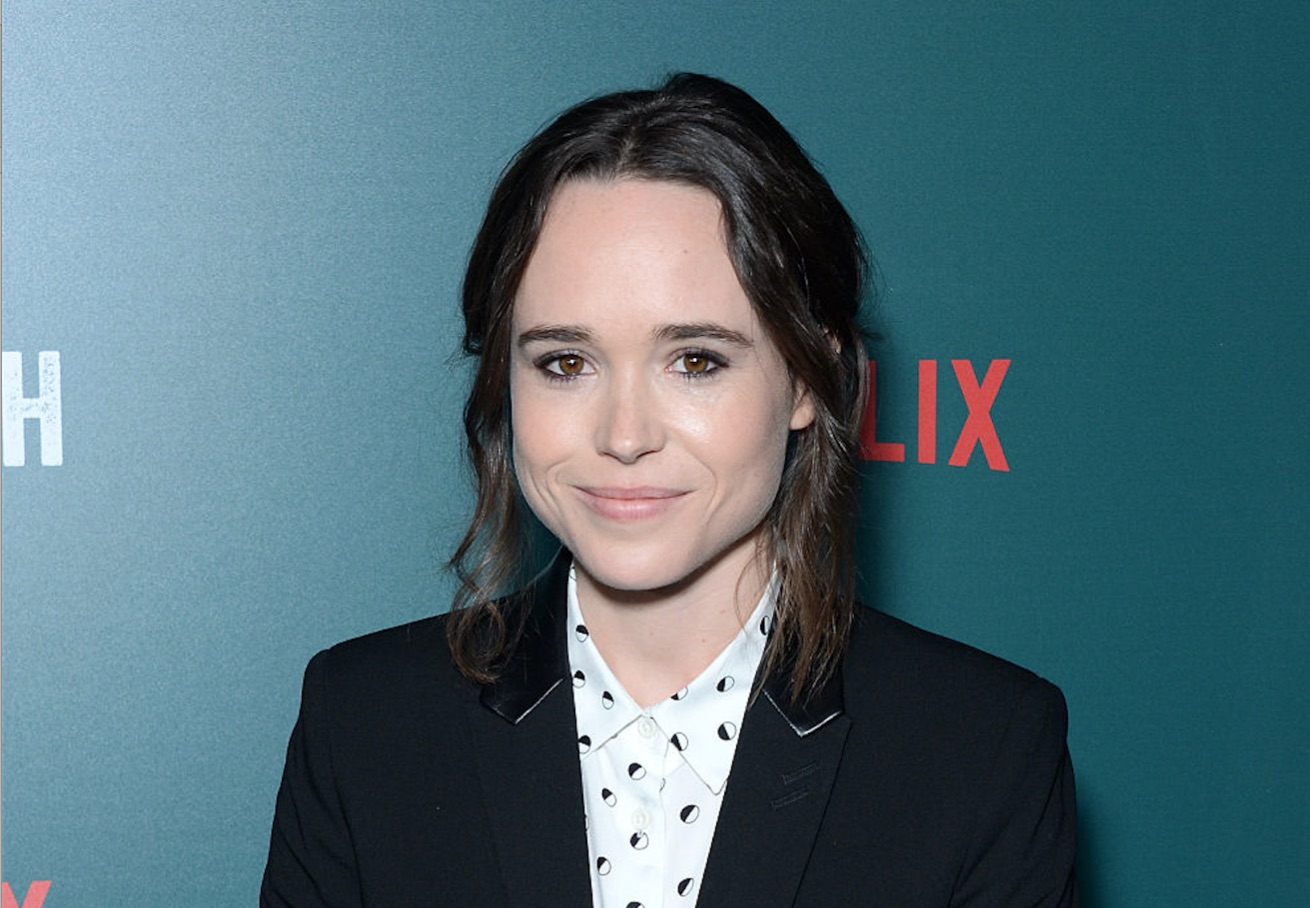 Ellen Page just posted another classic #TBT, and awwww it's basically perfection