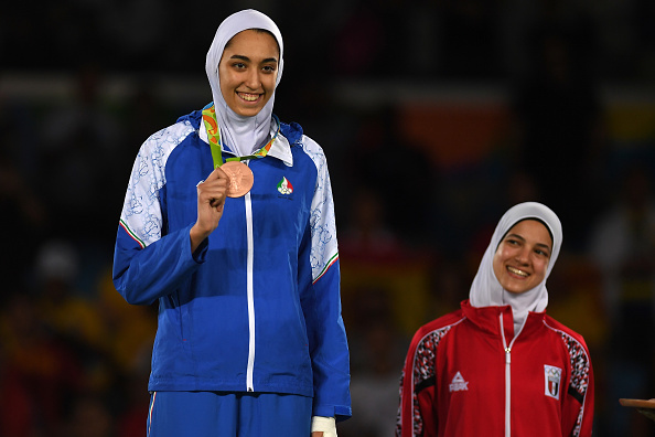 This Olympic athlete just changed the world for Iranian girls