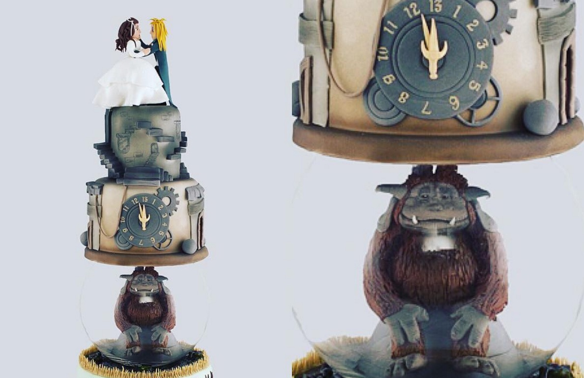 "We are losing our heads for these ""Labyrinth"" cakes"