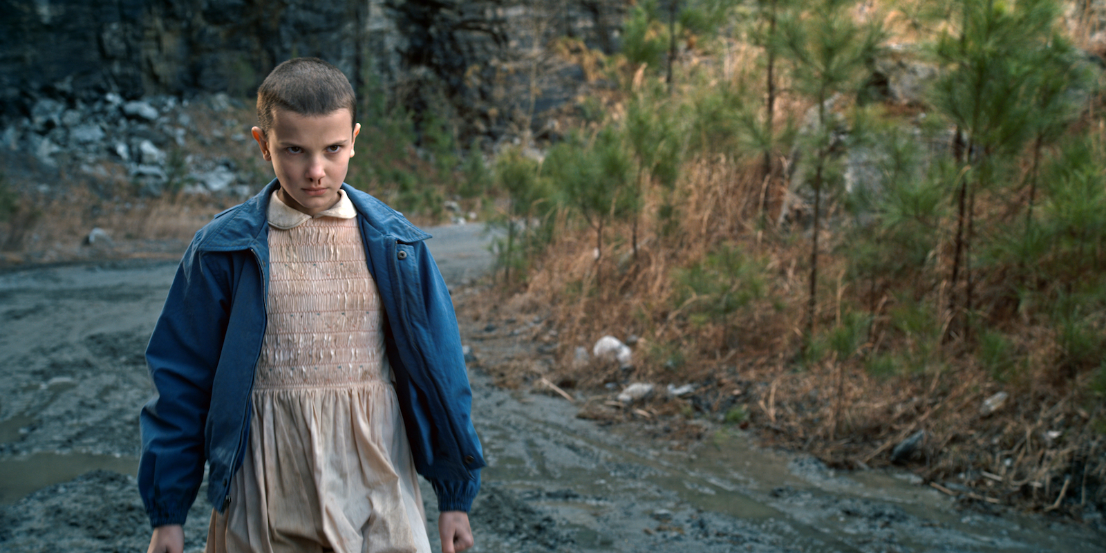 "Here's what it took for ""Stranger Things'"" Millie Brown to transform into Eleven"
