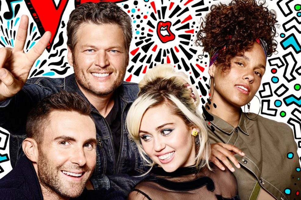 """The new judges of """"The Voice"""" give contestants a lot to live up to with this amazing performance of """"Dream On"""""""