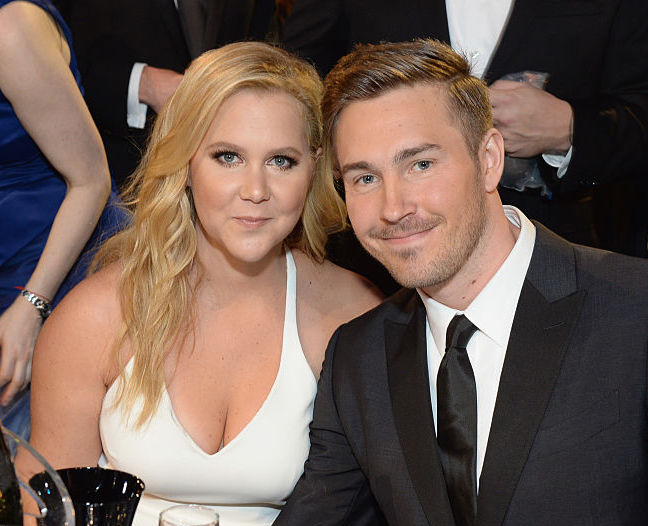 Amy Schumer snaps the sweetest cuddling selfie with her boyfriend