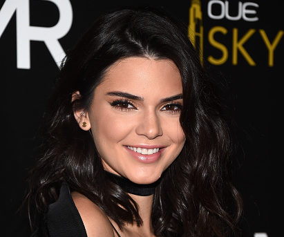 "We're ALL about Kendall Jenner's goth motorcycle look in her new ""Vogue"" Japan cover"