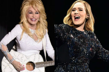Like all of us, Dolly Parton wants to copy Adele's makeup