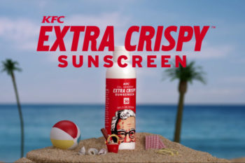 KFC's new sunscreen will keep you smelling, not feeling, extra crispy