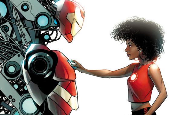 """Eff yes: The female Iron Man will be called """"Ironheart"""""""