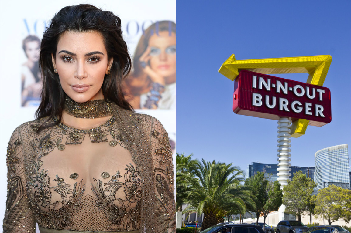 Kim Kardashian posts her super indulgent In-N-Out cheat meal to Snapchat, is 100% all of us
