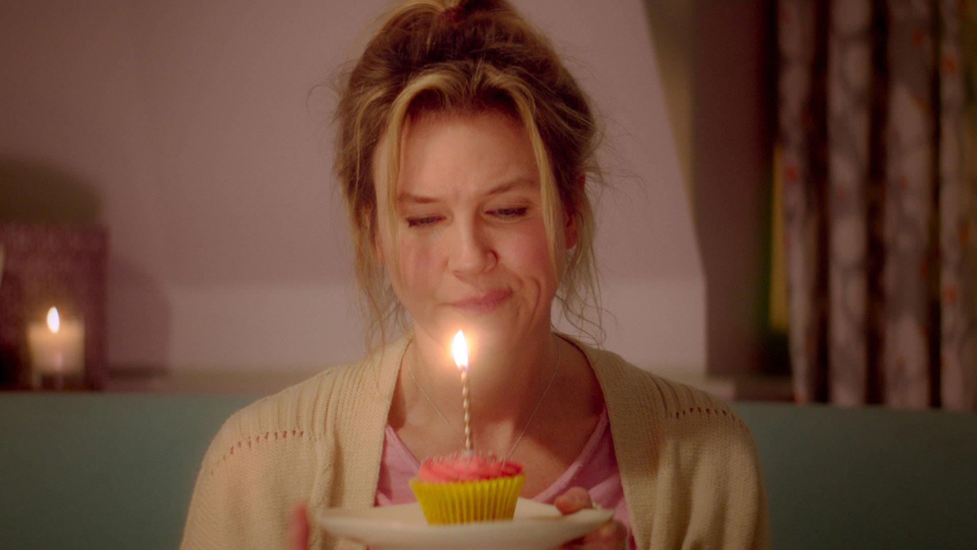 Renee Zellweger explains that Bridget Jones is finally happy with her body