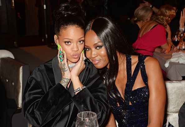 Rihanna fangirling over Naomi Campbell in her Puma designs is truly beautiful