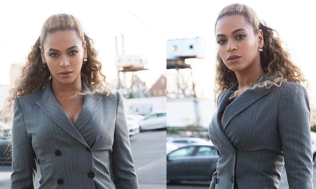 Beyoncé takes the business lady look to the next level (because she's Beyoncé)
