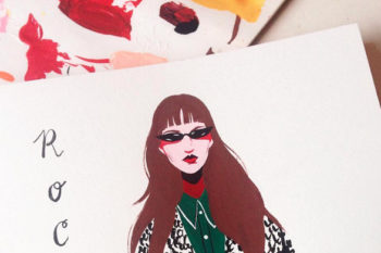 These rad fashion illustrations are something out of your most stylish dreams