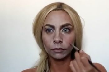 This woman transformed into Cara Delevingne with just makeup and we CANNOT look away