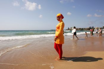 Ugh: A Muslim woman in France was forced to remove her burkini by armed police