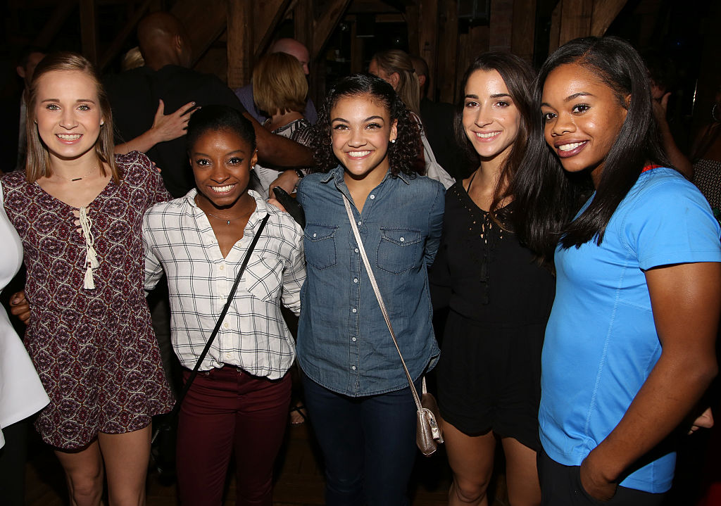 "The Final Five did not throw away their shot to see ""Hamilton"" in NYC"