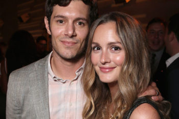 Leighton Meester and Adam Brody walk the red carpet together —for one of the first times, EVER