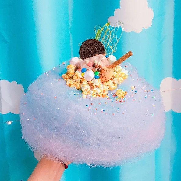 12 photos of fairy floss ice cream that prove the dessert trend is truly magical
