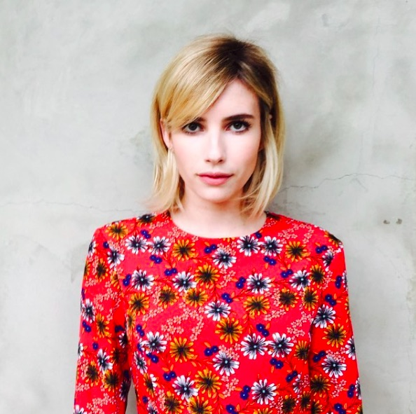 We are loving Emma Roberts' preppy look in this flawless new photoshoot