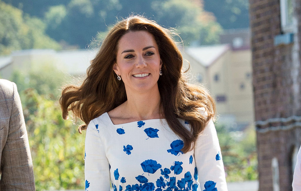 Kate Middleton's floral pencil dress is giving us summer wedding vibes