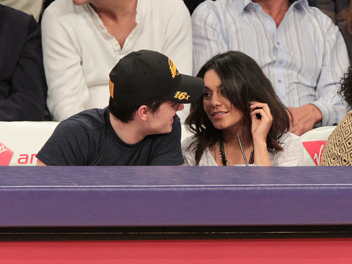 are vanessa and josh hutcherson still dating