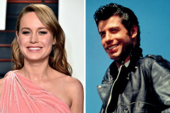 "Brie Larson's latest look reminds us of John Travolta in ""Grease"" (and it's the one that we want)"