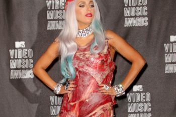 You can now literally eat Lady Gaga's meat dress, in case that's something you wanted